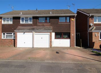 Thumbnail 3 bedroom semi-detached house for sale in Rangewood Avenue, Reading, Berkshire