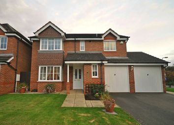 Thumbnail 4 bed detached house for sale in Churchward Drive, Stretton, Burton-On-Trent