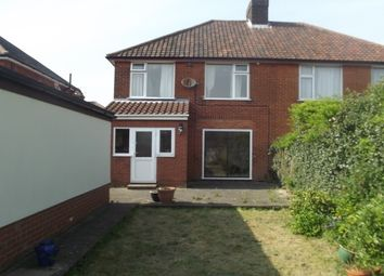 Thumbnail 3 bed property to rent in Whitby Road, Ipswich