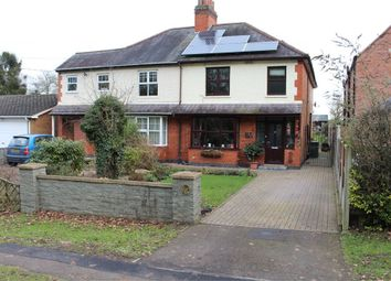 Thumbnail 4 bed semi-detached house for sale in Dunton Road, Broughton Astley, Leicester