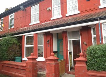 Thumbnail 2 bed terraced house to rent in Livesey Street, Burnage, Manchester