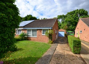 Thumbnail 2 bed semi-detached bungalow for sale in College Drive, Heacham, King's Lynn