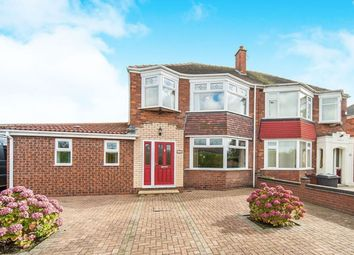 Thumbnail 3 bed semi-detached house for sale in Ganstead Lane, Bilton, Hull