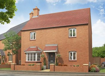 "Thumbnail 3 bed detached house for sale in ""The Bowood "" at Towcester Road, Old Stratford, Milton Keynes"