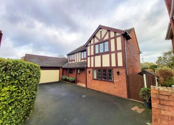 Thumbnail 4 bed detached house for sale in Deepdale, Tamworth, Staffordshire