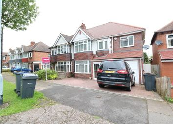 Thumbnail 5 bedroom semi-detached house for sale in Worlds End Road, Handsworth Wood, West Midlands