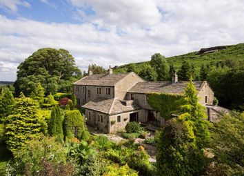 Thumbnail 4 bed detached house for sale in Crag House Farm, Low Snowdon, Otley