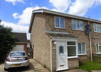 Thumbnail 3 bedroom semi-detached house to rent in Clover Way, Red Lodge, Bury St. Edmunds