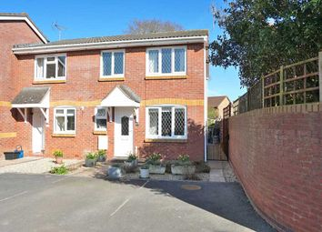 Thumbnail 3 bed end terrace house for sale in Hawthorne Close, Cullompton