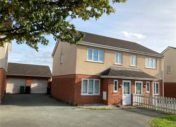 Thumbnail 3 bed semi-detached house for sale in College Road, Oswestry, Shropshire