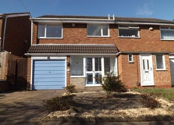 Thumbnail 3 bedroom semi-detached house for sale in Kitwell Lane, Birmingham, West Midlands