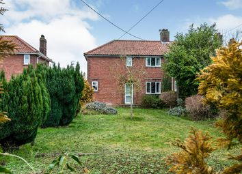 Thumbnail 4 bed semi-detached house for sale in High Road, Roydon, Diss