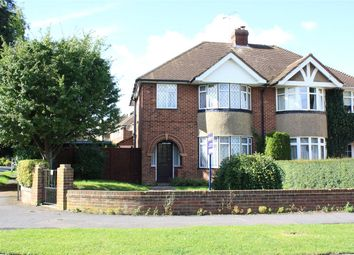 Thumbnail 3 bed semi-detached house for sale in Wroxham Road, Woodley, Reading, Berkshire