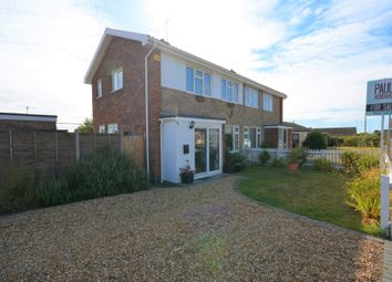 Thumbnail 2 bed semi-detached house for sale in Hall Road, Kessingland, Suffolk