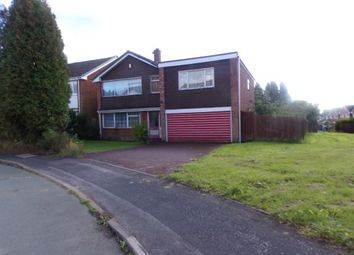 Thumbnail 4 bedroom detached house for sale in Newquay Close, Park Hall, Walsall, .