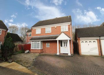 Thumbnail 4 bed detached house for sale in Denton Close, Kempston