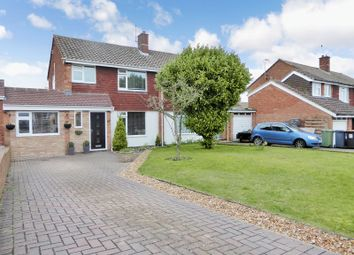 Thumbnail 3 bed semi-detached house for sale in Candale Close, Dunstable