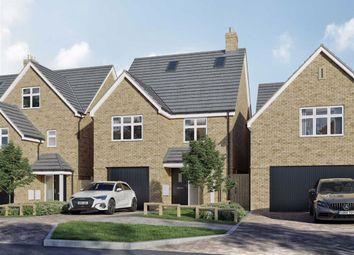 Thumbnail 3 bed detached house for sale in Malvern Place, Stevenage, Hertfordshire