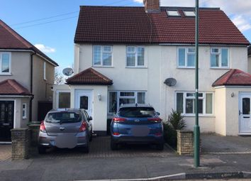 Thumbnail 3 bed semi-detached house to rent in Beeches Road, North Cheam, Sutton