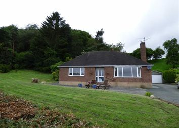 Thumbnail 3 bedroom detached bungalow to rent in Llanfyllin