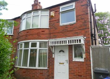 Thumbnail 3 bed property to rent in Ashdene Road, Withington, Manchester, Greater Manchester