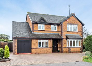 Thumbnail 4 bed detached house for sale in Rowan Grove, St Ippolyts, Hitchin