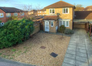 Thumbnail 3 bed link-detached house for sale in Caernarvon Road, St. Neots, Cambridgeshire