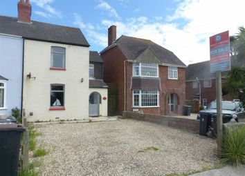 Thumbnail 3 bed semi-detached house for sale in Chickerell Road, Weymouth, Dorset