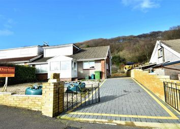 Thumbnail 3 bed semi-detached bungalow for sale in Whiterock Close, Pontypridd
