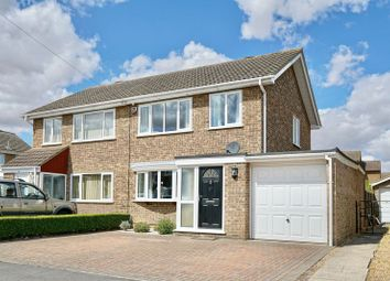 Thumbnail 3 bed semi-detached house for sale in Brook Road, Eaton Ford, St Neots, Cambridgeshire.
