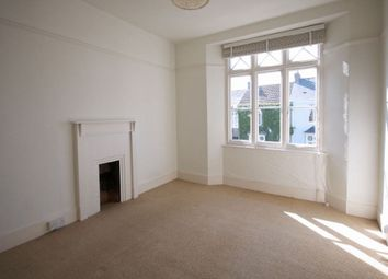 Thumbnail 2 bedroom flat to rent in Belmont Road, Falmouth