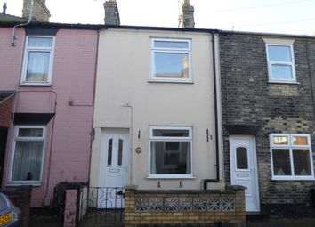 Thumbnail 2 bed terraced house to rent in Manby Road, Gorleston, Great Yarmouth