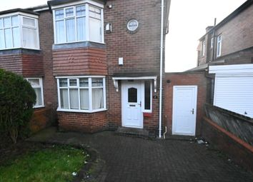 Thumbnail 2 bed semi-detached house for sale in Clovelly Avenue, Grainger Park