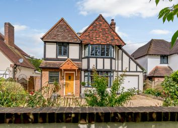 Thumbnail 4 bed detached house for sale in Manor Road South, Hinchley Wood