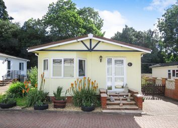 Thumbnail 2 bed mobile/park home for sale in Theddingworth Road, Lubenham, Market Harborough