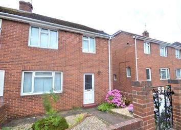 Thumbnail 2 bed semi-detached house to rent in Kingsway, Heavitree, Exeter, Devon