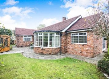 Thumbnail 3 bed bungalow for sale in Lees Lane, Newton, Mottram St Andrew, Cheshire