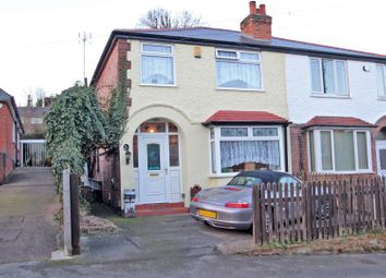 Thumbnail 3 bed semi-detached house for sale in Hilton Road, Mapperley, Nottingham