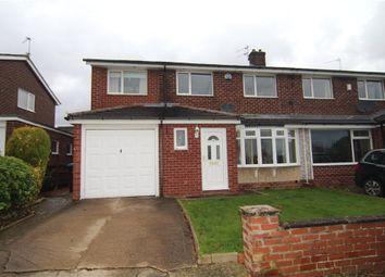 Thumbnail 4 bed semi-detached house for sale in Richmond Road, Newton Hall, Durham