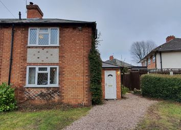 Thumbnail 2 bed end terrace house to rent in Pitmaston Road, Hall Green, Birmingham