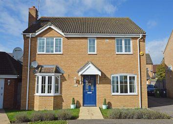 Thumbnail 4 bed detached house for sale in Black Swan Crescent, Hampton Hargate, Peterborough
