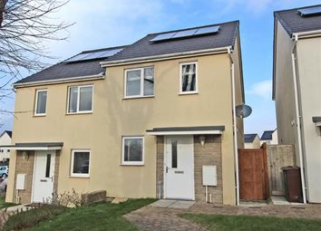 Thumbnail 2 bedroom semi-detached house for sale in Overdale Road, Plymouth
