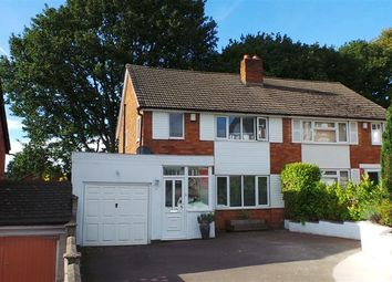 Thumbnail 3 bed semi-detached house for sale in Haycroft Drive, Four Oaks, Sutton Coldfield
