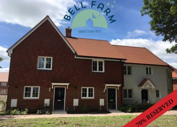Thumbnail 2 bedroom terraced house for sale in Bell Farm, Harrietsham, Kent