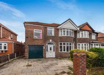 Thumbnail 4 bed semi-detached house for sale in Newstead Road, Urmston, Manchester
