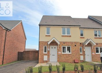 Thumbnail 3 bed semi-detached house to rent in Elgar Close, Alway, Newport