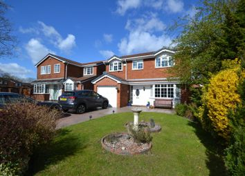 Thumbnail 5 bed detached house for sale in Ladywood Road, Old Hall, Warrington