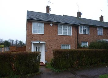 Thumbnail 3 bed end terrace house to rent in Harwood Hill, Welwyn Garden City