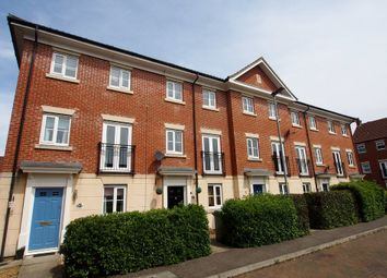 Thumbnail 3 bed town house for sale in Burdock Close, Wymondham