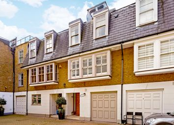 Thumbnail 4 bed mews house for sale in St. Catherines Mews, London